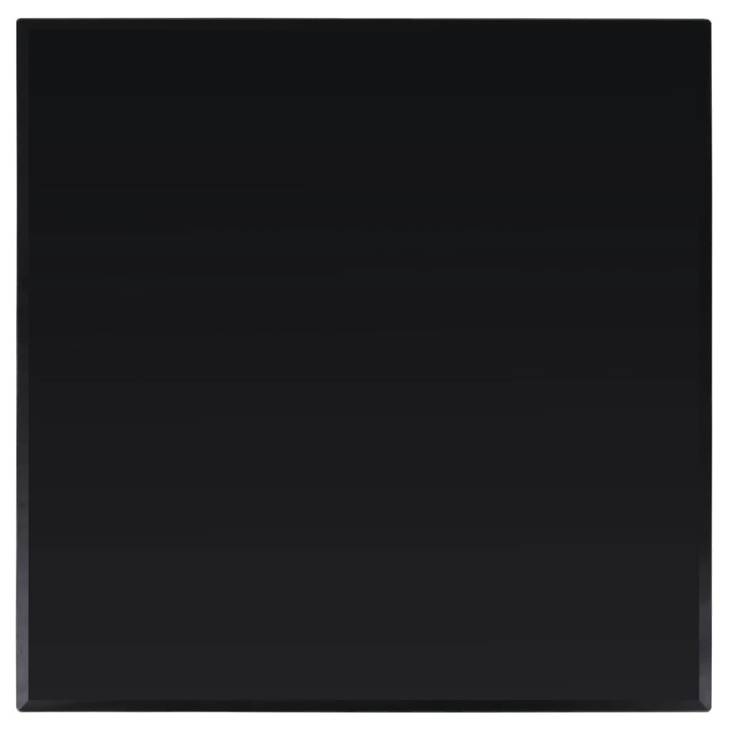 vidaXL Stolová doska z tvrdeného skla, štvrorcová, 800x800 mm