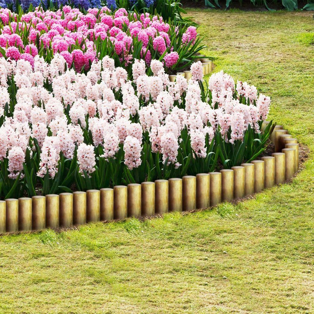 vidaXL Špicaté plotové stĺpiky, 25 ks, impregnované borovicové drevo, 5x30cm