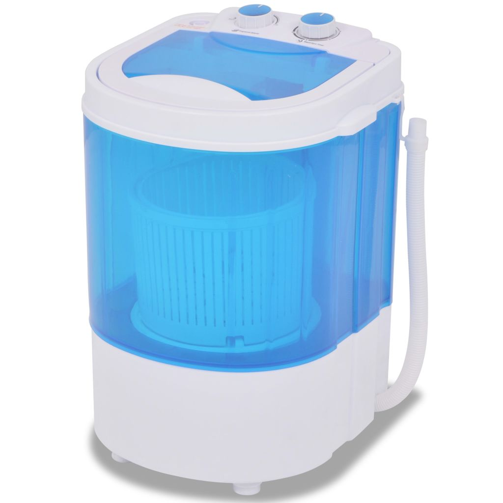 vidaXL Mini práčka, jeden bubon, 2,6 kg