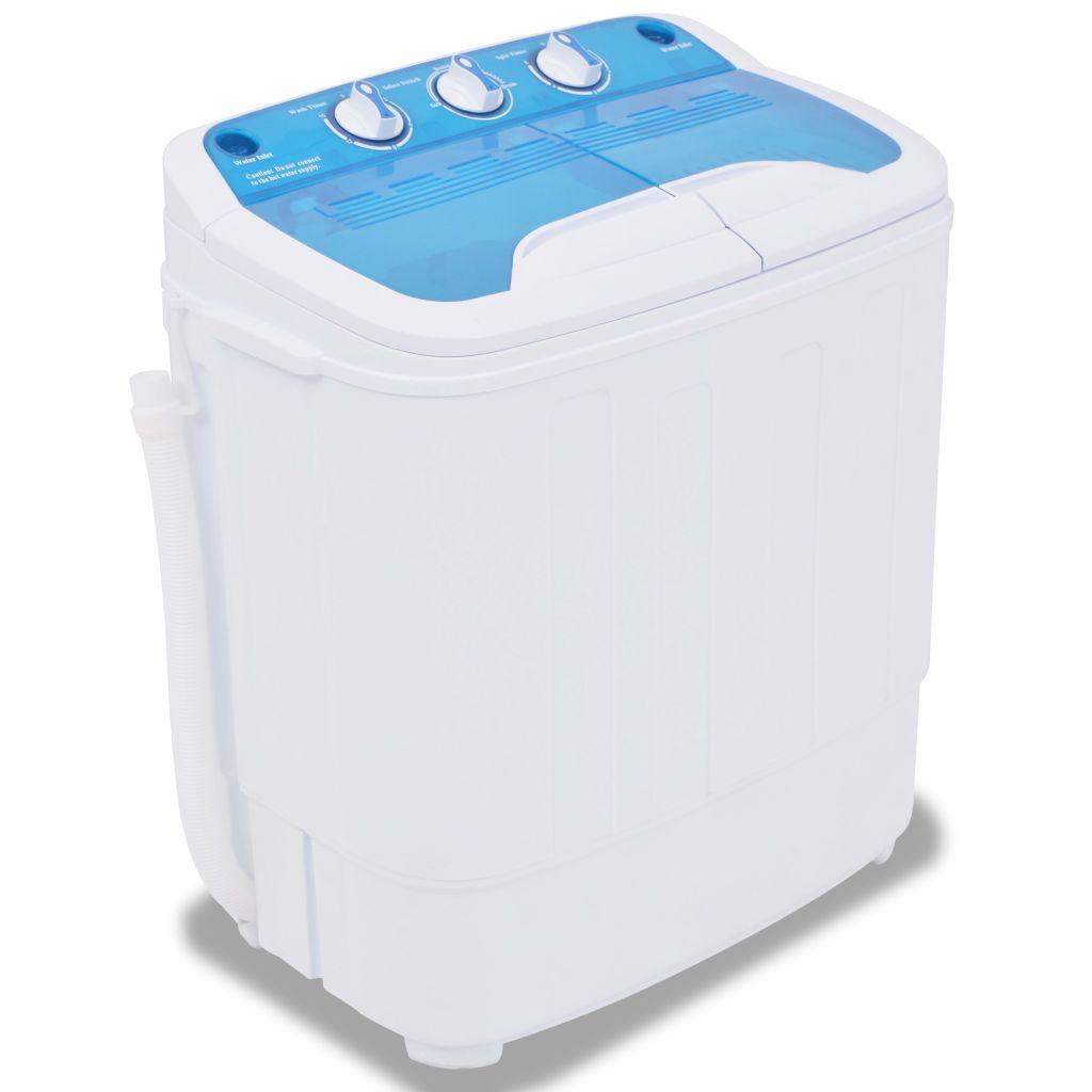 vidaXL Mini práčka s dvojitou nádobou, 5,6 kg