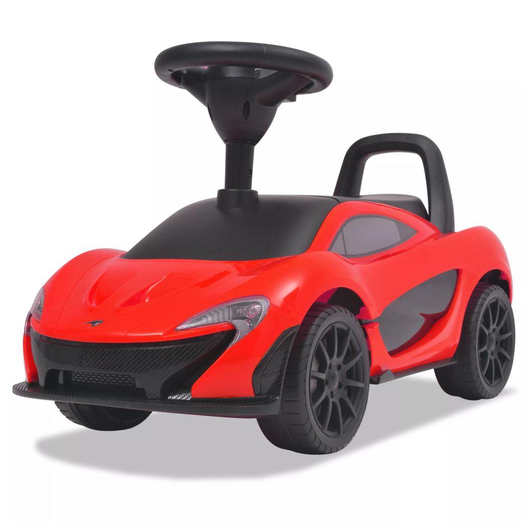vidaXL Detské auto McLaren P1 červené