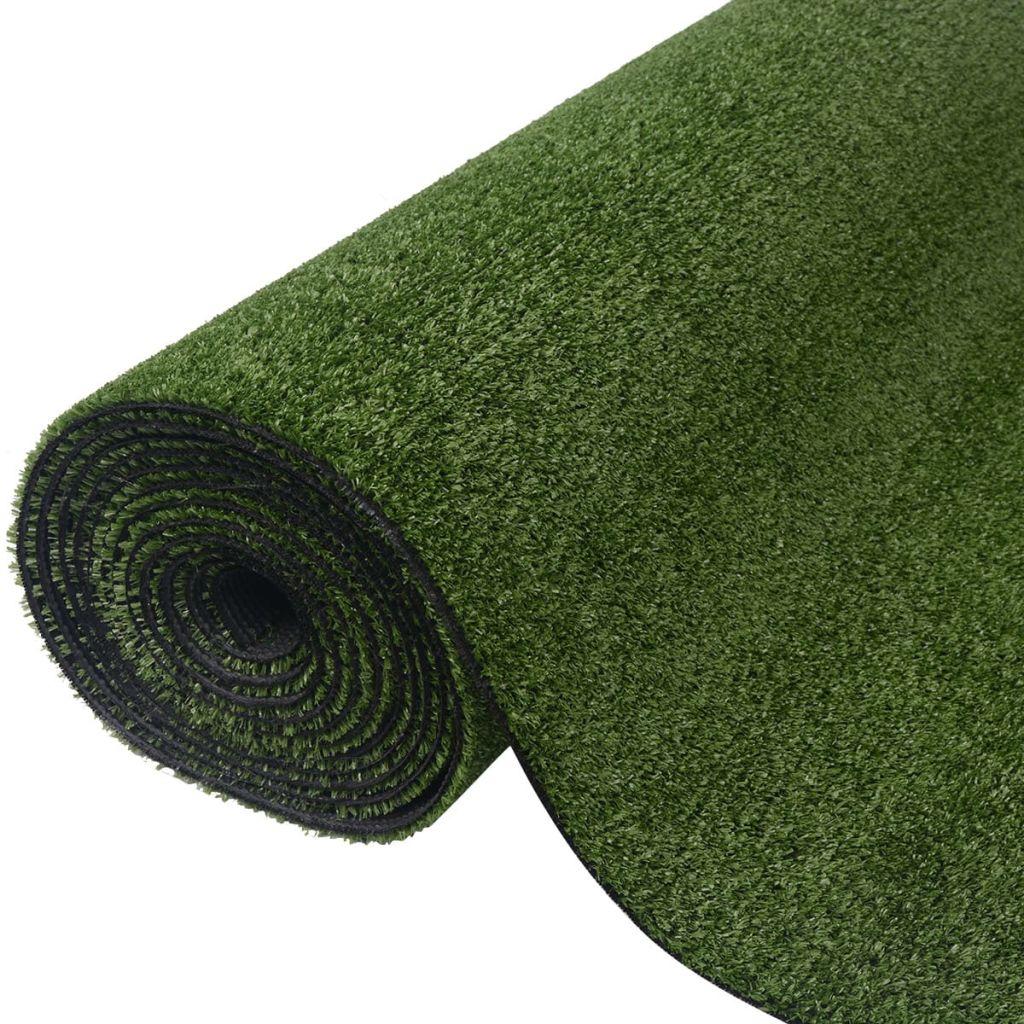 vidaXL Umelý trávnik 0,5x5 m/7-9 mm, zelený