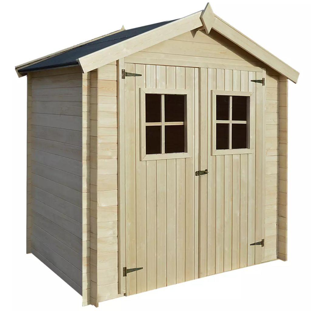 vidaXL Záhradný drevený domček/dreváreň/kôlňa, 2x1,5 m, 19 mm