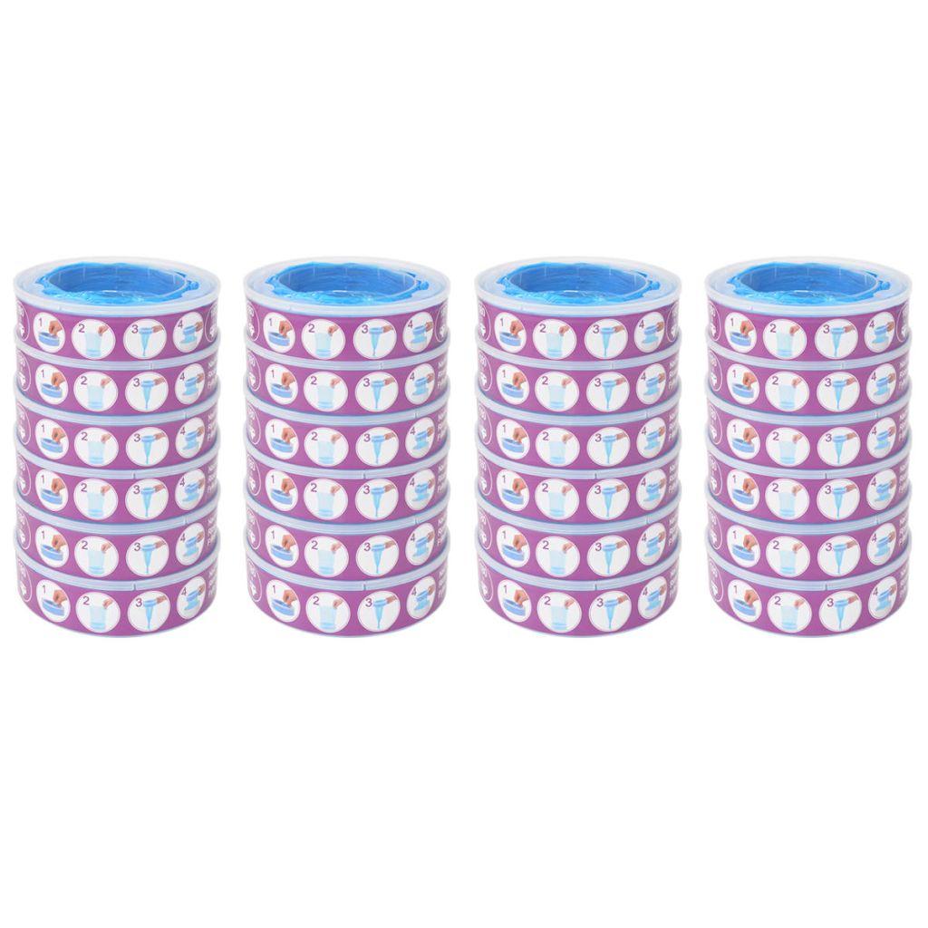 vidaXL Náplňové kazety do koša na plienky pre Angelcare, 24 ks