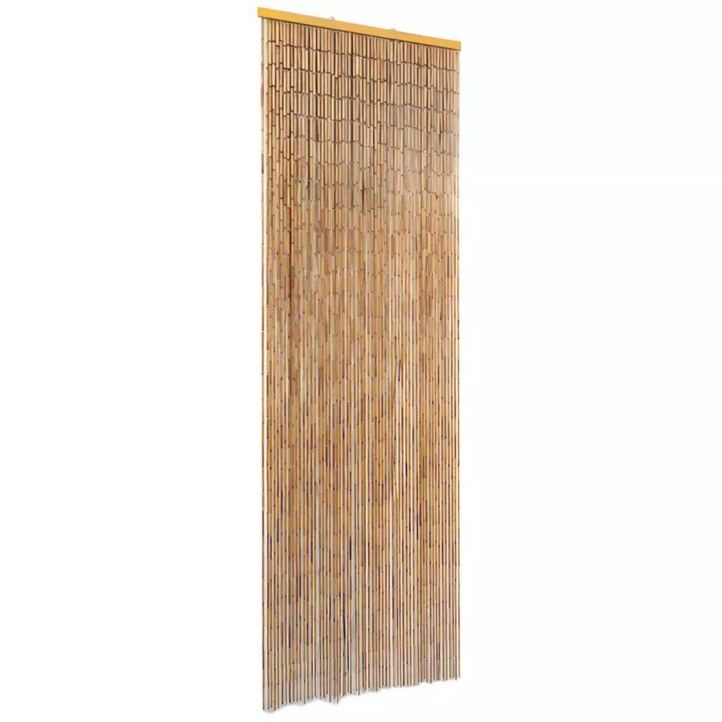 vidaXL Záves proti hmyzu do dverí, bambus 56x185 cm