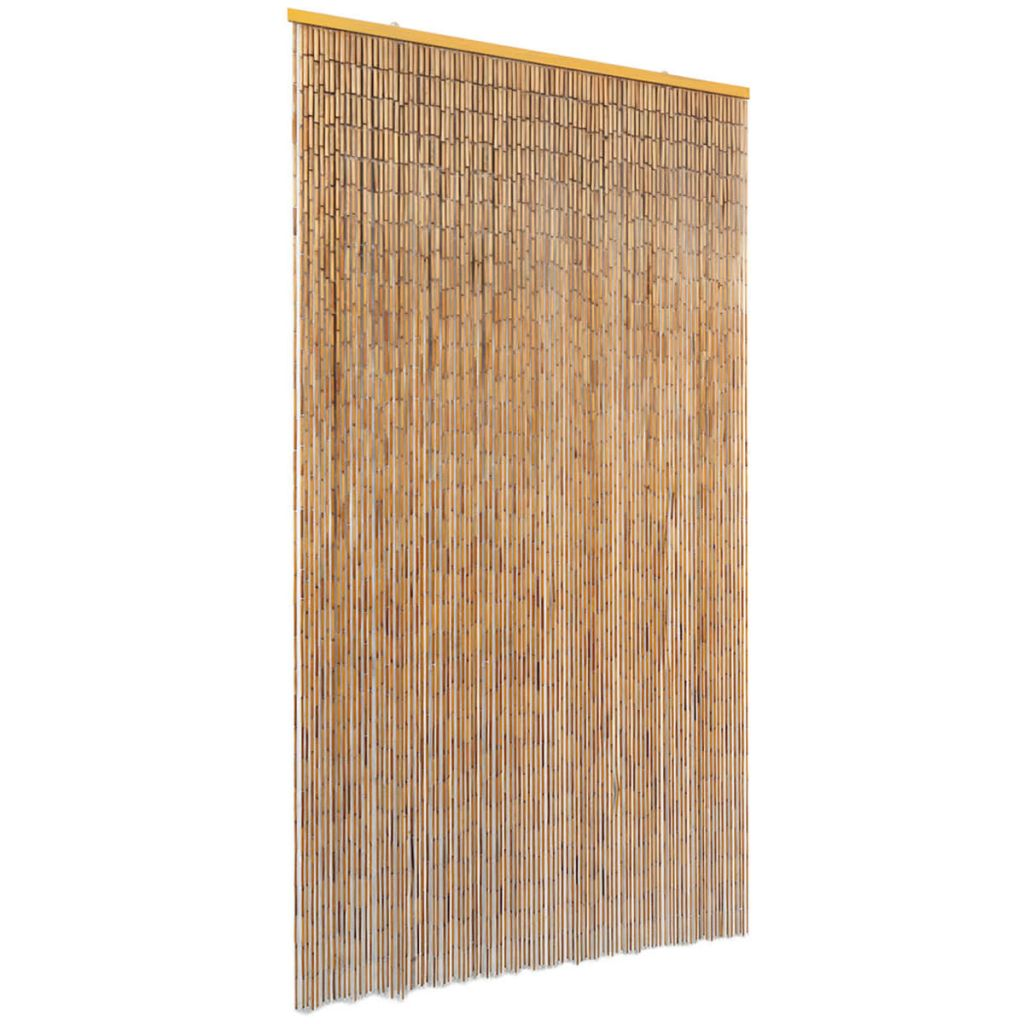 vidaXL Záves proti hmyzu do dverí, bambus 100x200 cm