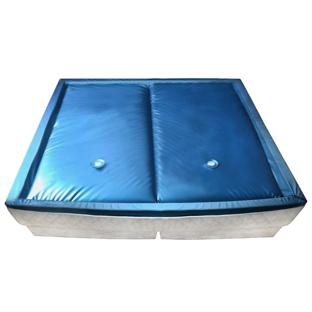 vidaXL Sada oddelených vodných matracov s podšívkou 200x200 cm F3