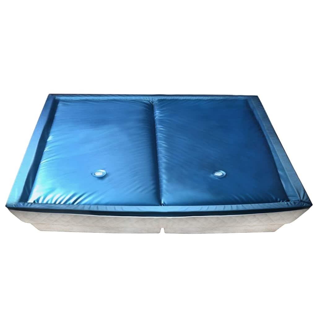 vidaXL Sada oddelených vodných matracov s podšívkou 200x220 cm F3