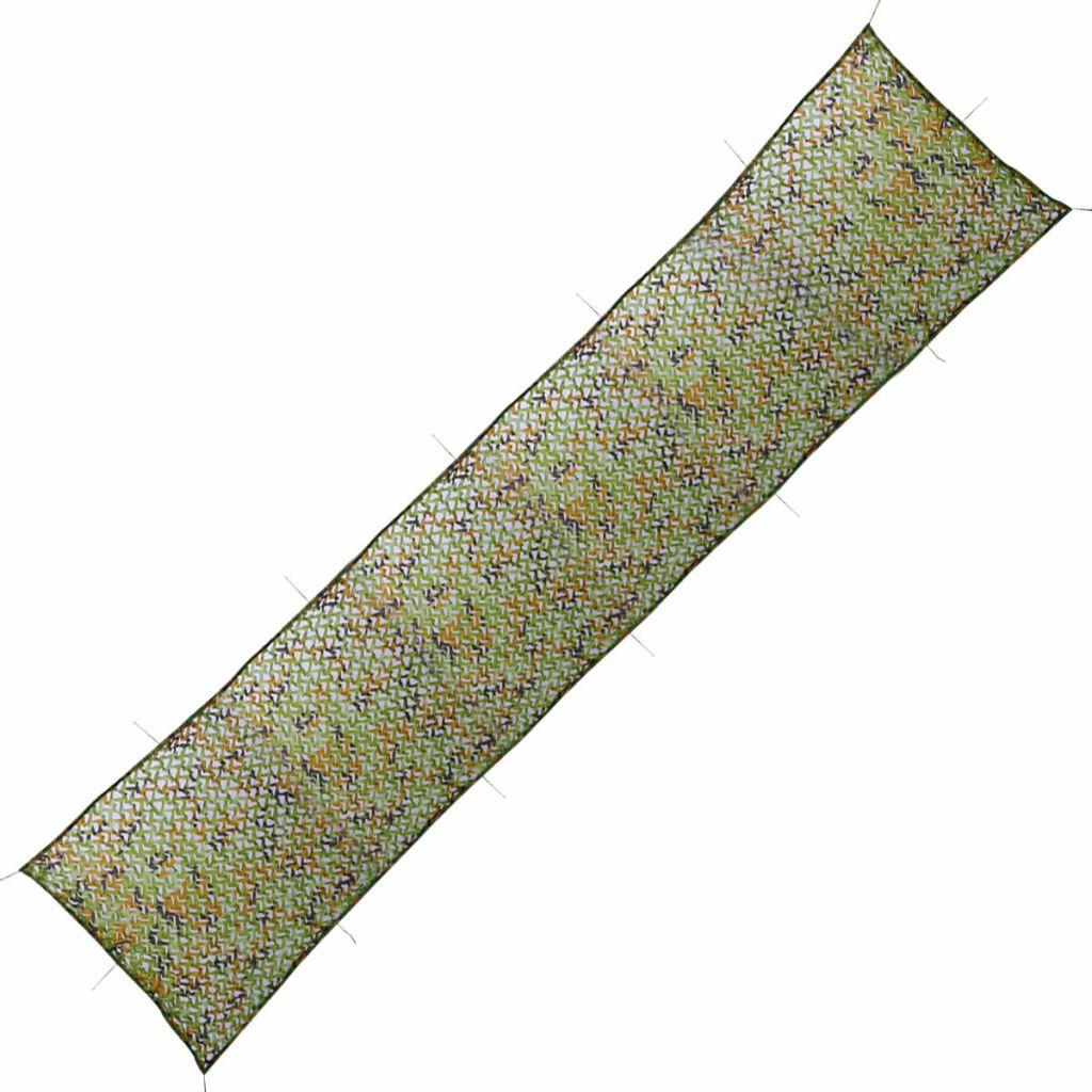 vidaXL Maskovacia sieť v úložnej taške 1,5x10 m