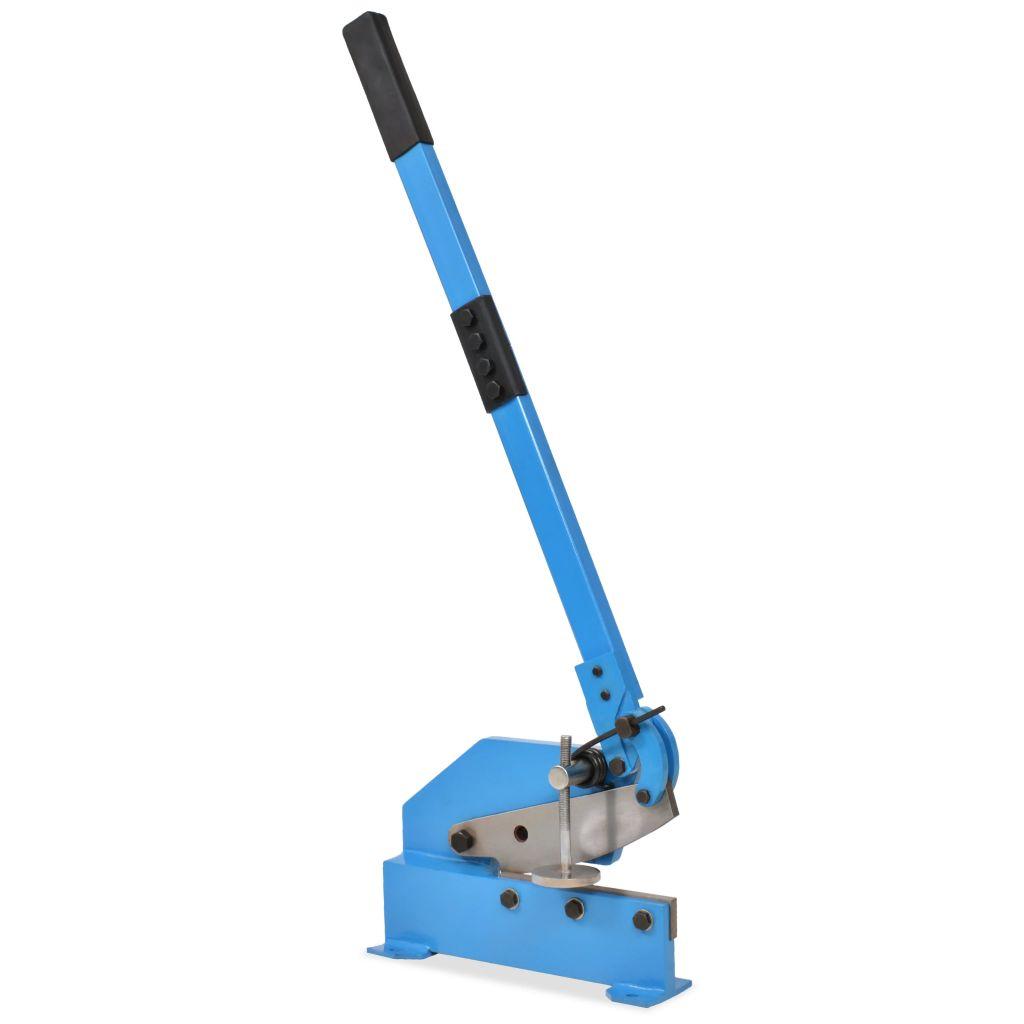 vidaXL Pákové nožnice 200 mm, modré