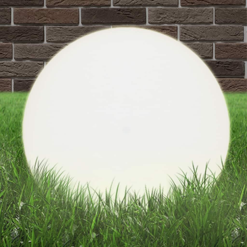 vidaXL LED lampa v tvare gule 50 cm PMMA