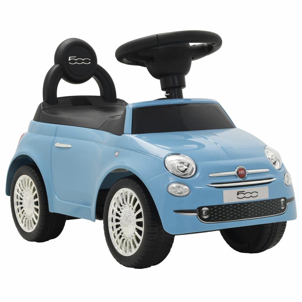 vidaXL Detské autíčko Fiat 500 modré