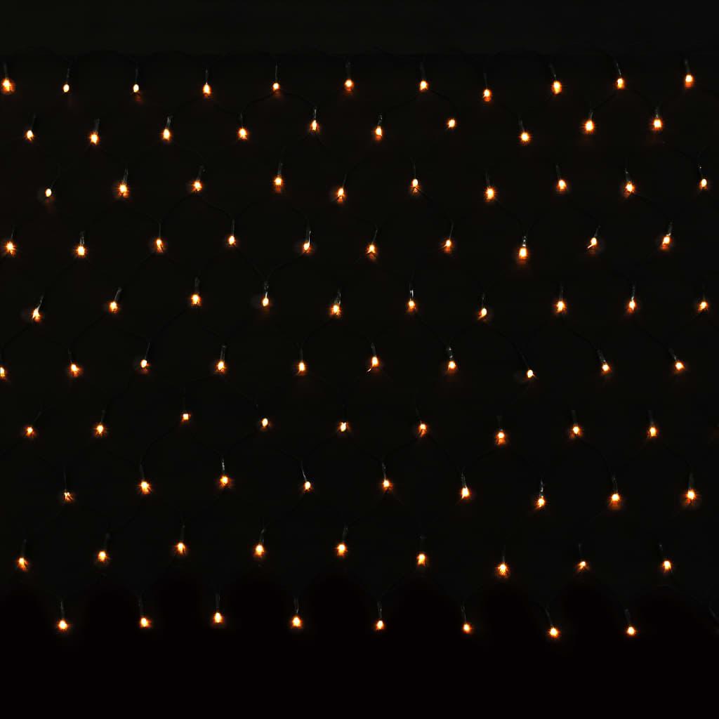 vidaXL Svetelná LED sieť do exteriéru a interiéru IP44 700x80 cm
