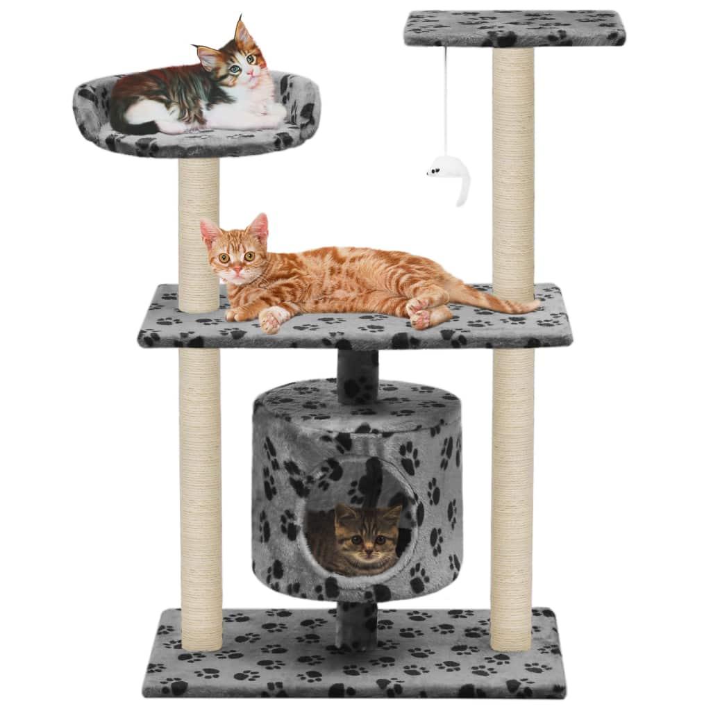 vidaXL Škrabadlo pre mačky so sisalovými stĺpikmi 95cm 93dd04b6097