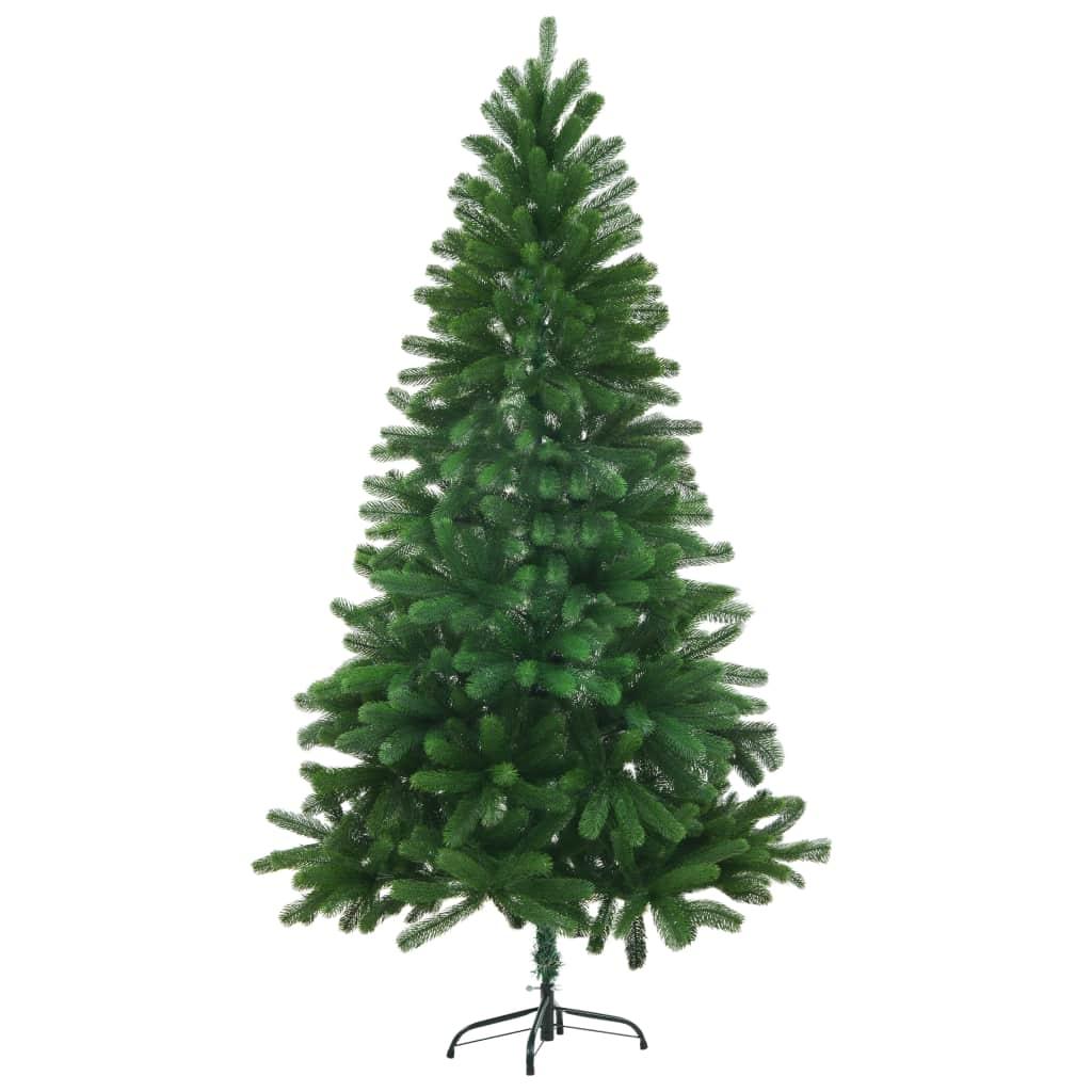 vidaXL Umelý vianočný stromček 150 cm zelený