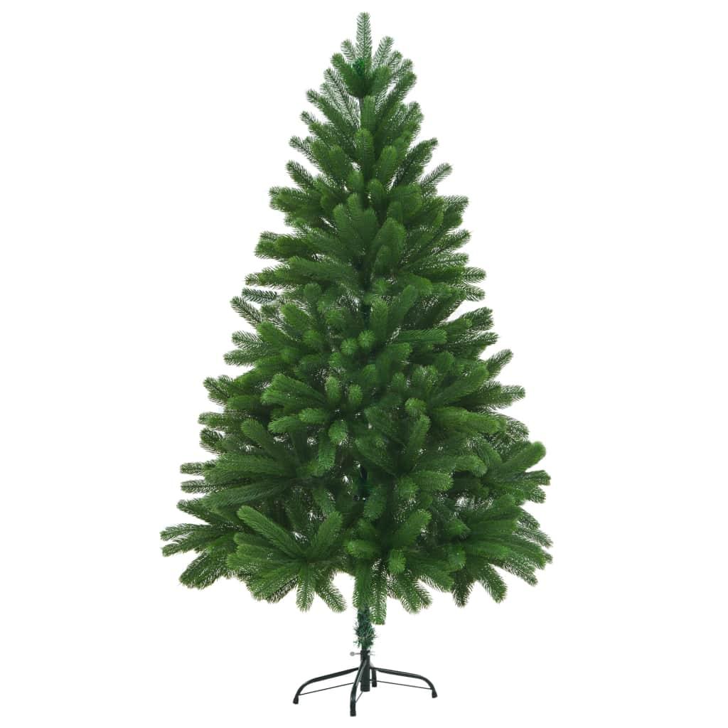 vidaXL Umelý vianočný stromček 180 cm zelený