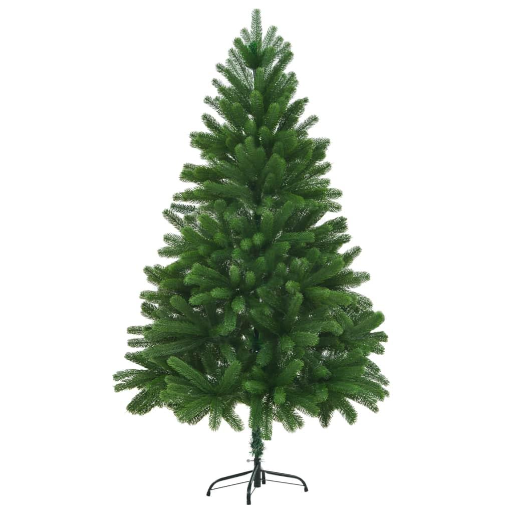 vidaXL Umelý vianočný stromček 210 cm zelený