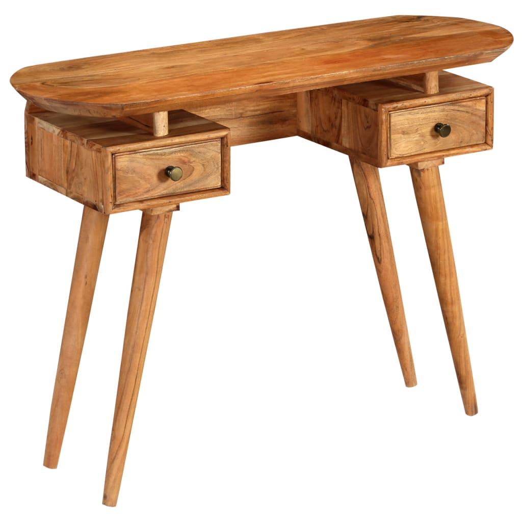 vidaXL Prístavný stolík z akáciového dreva 100x35x75 cm