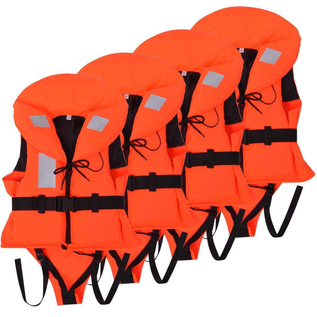 vidaXL Detská plávacia vesta 4 ks 100 N 10-20 kg