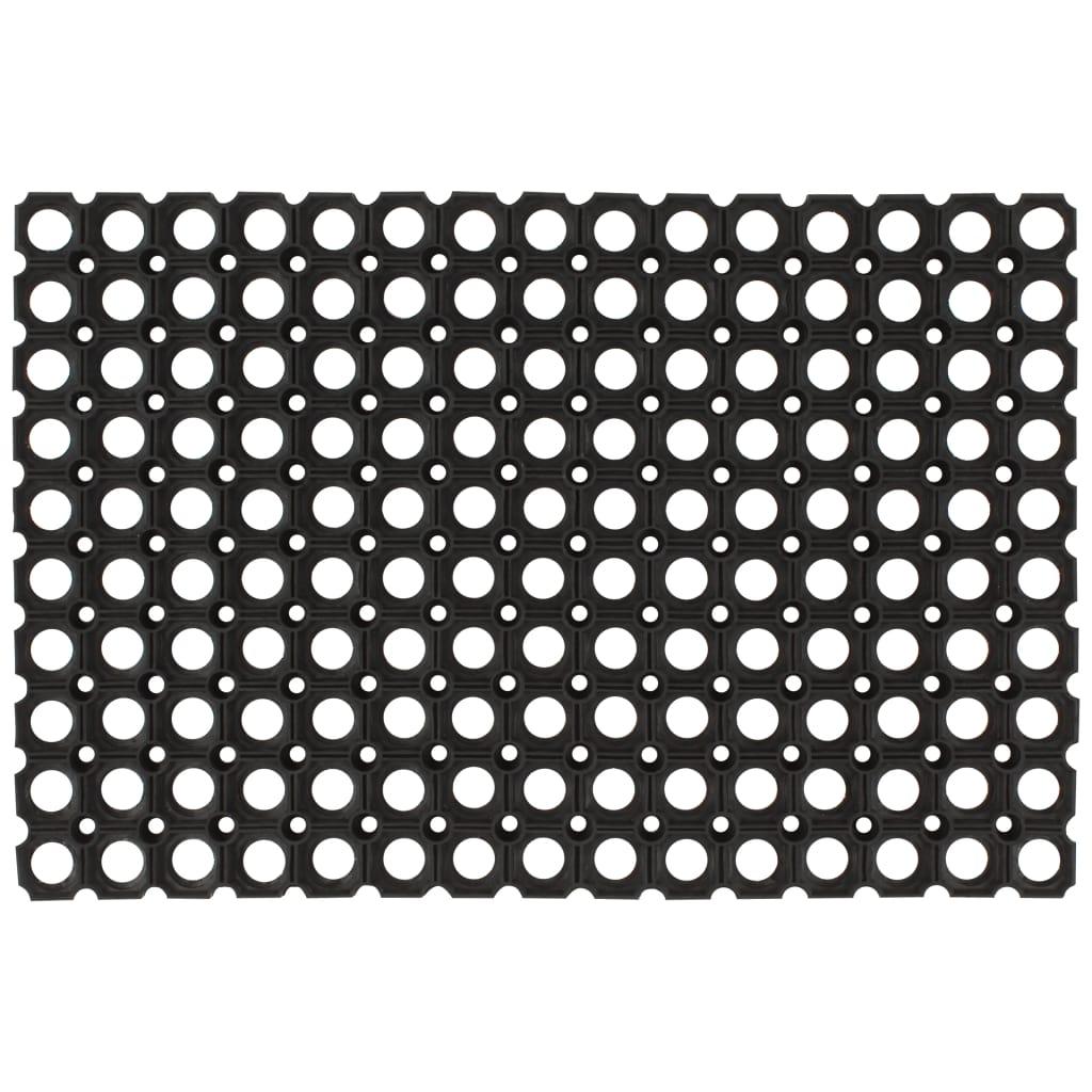 vidaXL Gumené rohože 5 ks 23 mm 40x60 cm