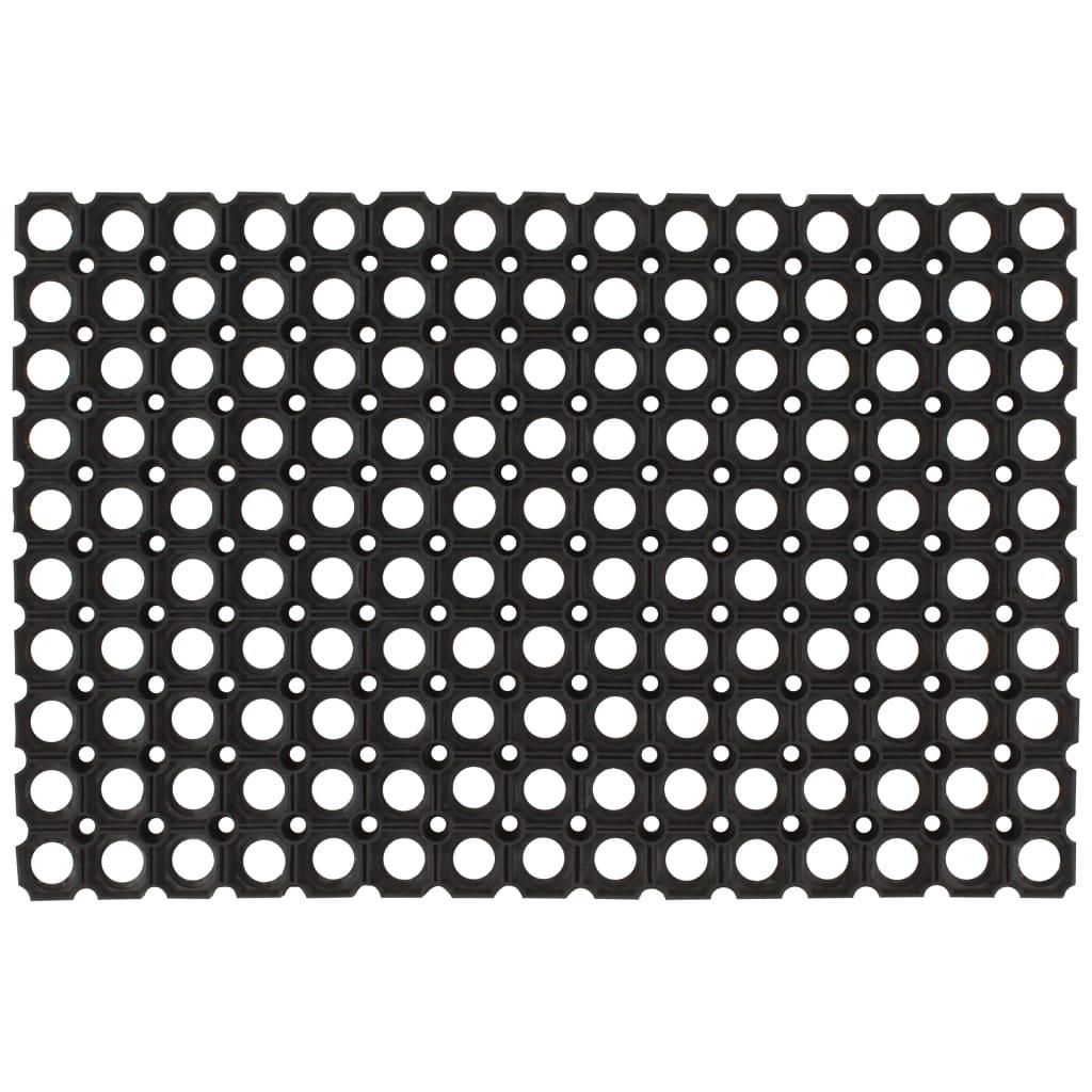 vidaXL Gumené rohože 2 ks 23 mm 60x80 cm