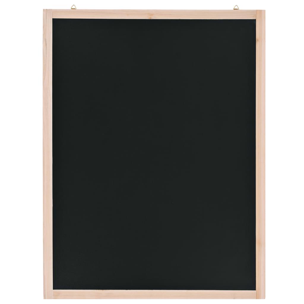 vidaXL Nástenná tabuľa z cédrového dreva 60x80 cm