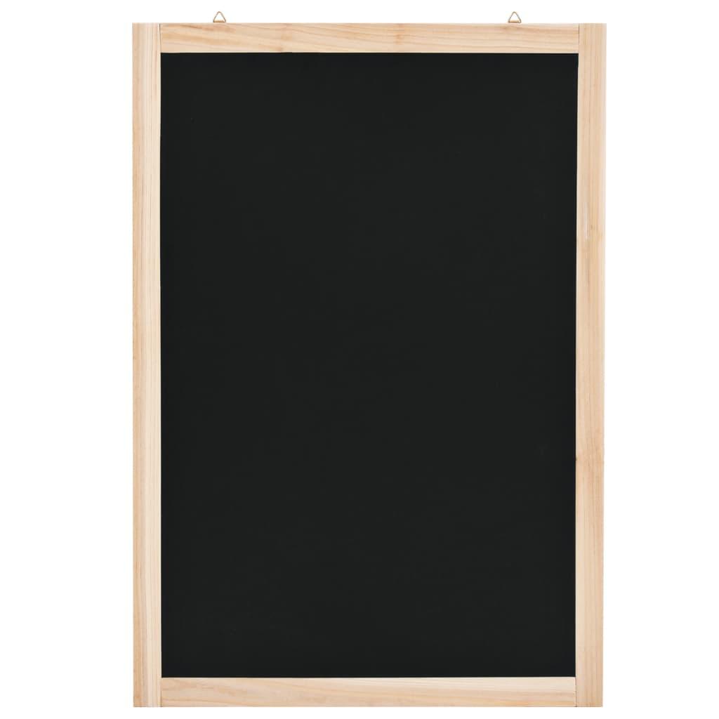 vidaXL Nástenná tabuľa z cédrového dreva 40x60 cm
