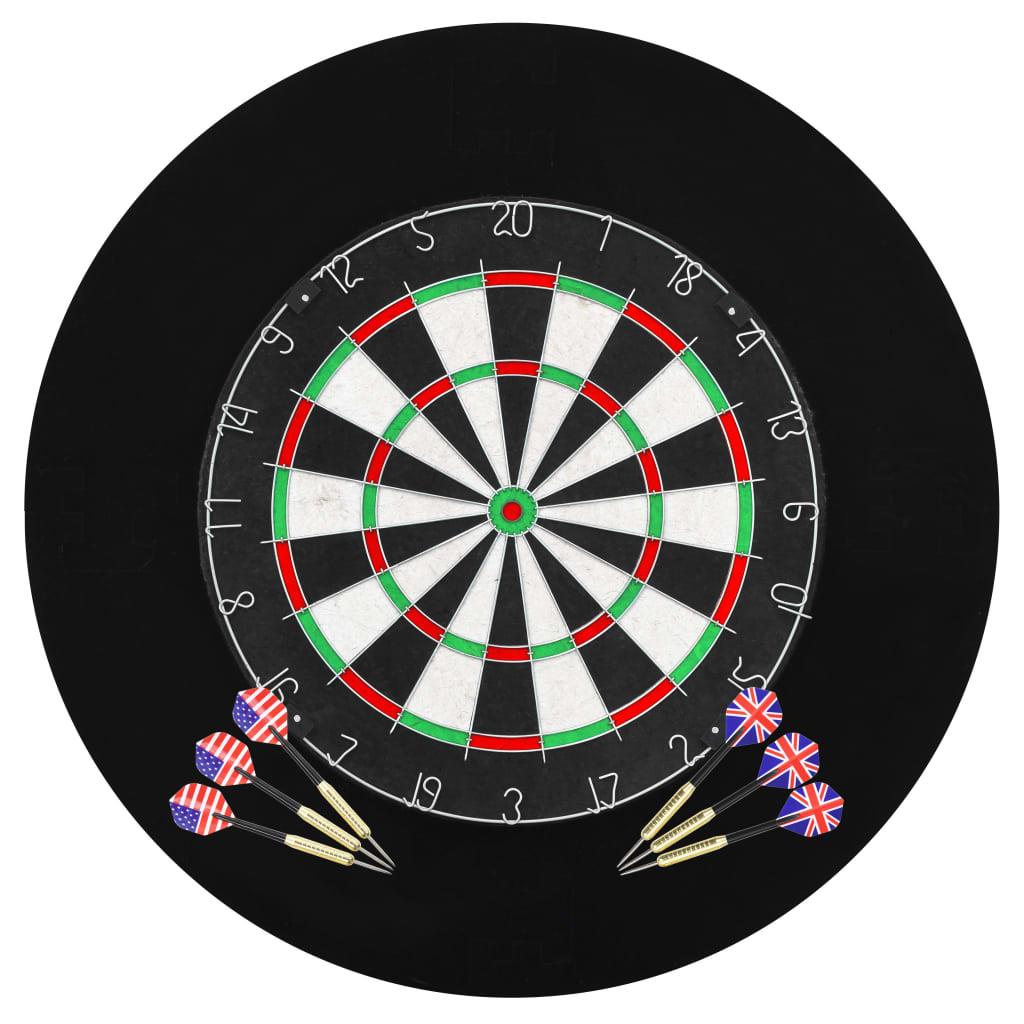 vidaXL Profesionálny terč so 6 šípkami a vonkajším kruhom
