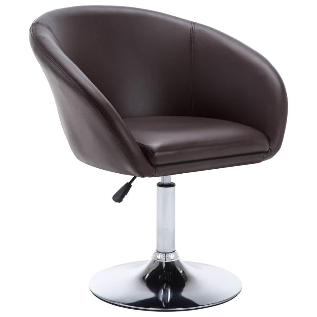 6adcb00f466f4 vidaXL Jedálenská stolička z ohýbaného dreva s poťahom z umelej kože