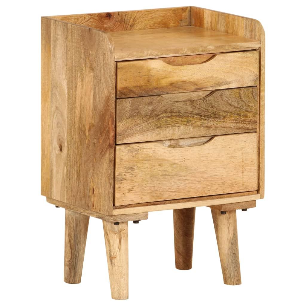 vidaXL Nočný stolík z mangovníkového dreva 40x30x59,5 cm