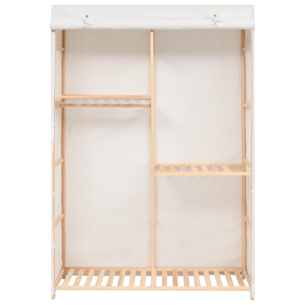 vidaXL 3-poschodový šatník 110x40x170 cm