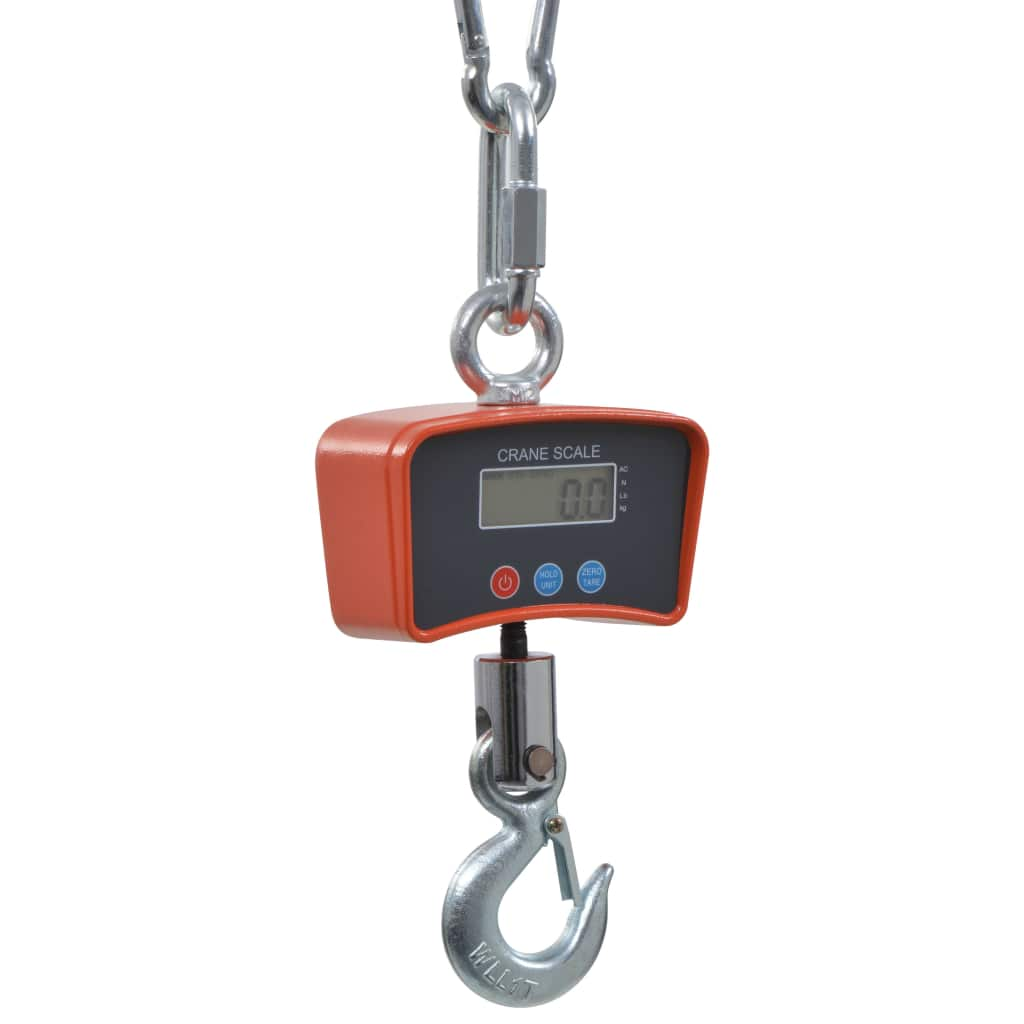 vidaXL Elektronické závesné váhy 1000 kg