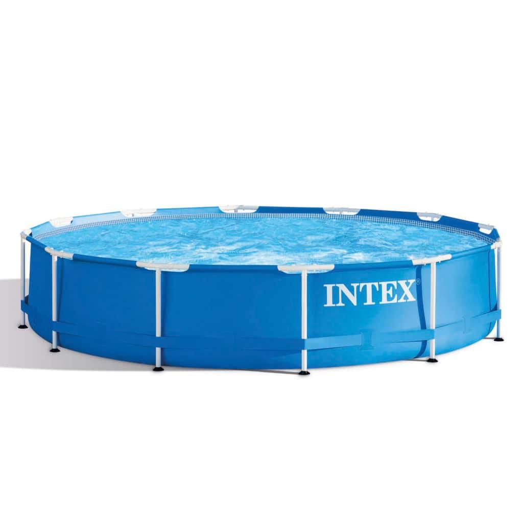 Intex Bazén 366x76 cm Metal Frame 28210NP