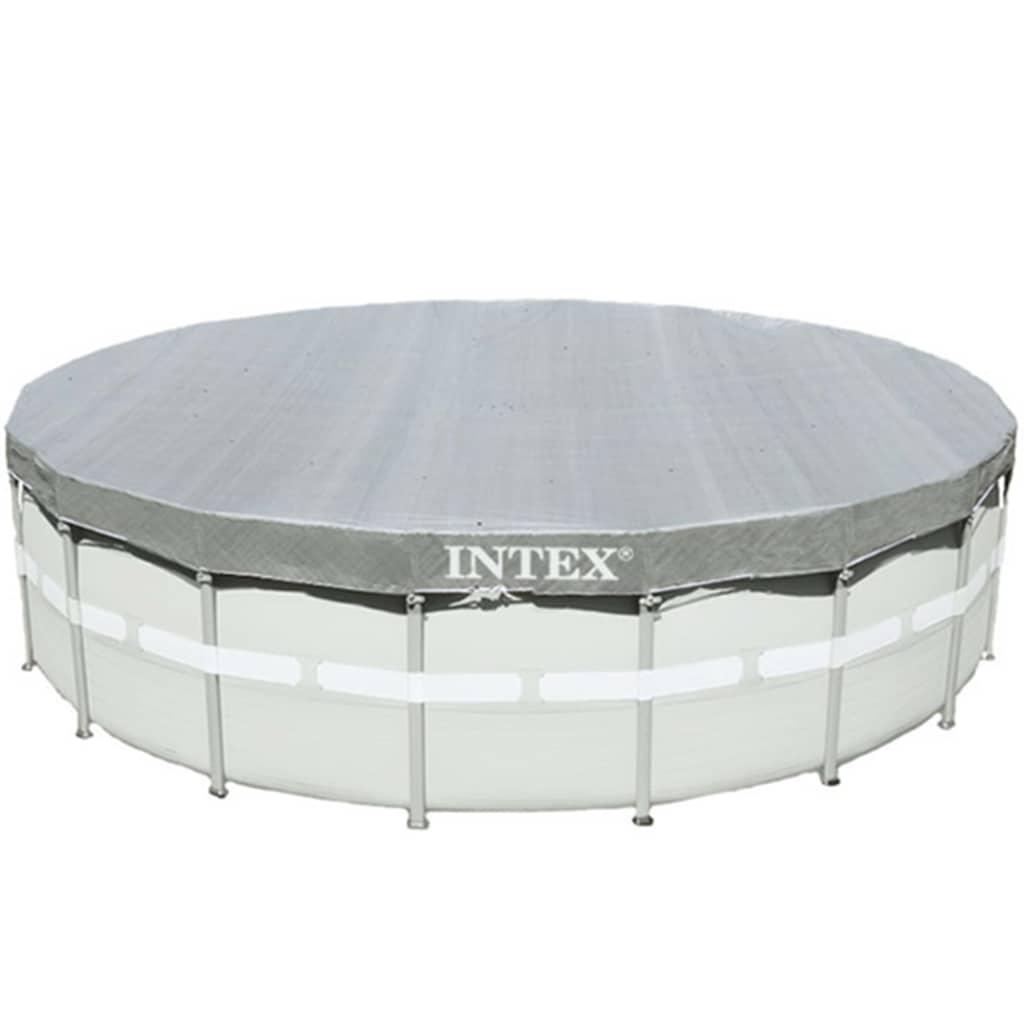 Intex Bazénová plachta Deluxe 488 cm okrúhla 28040