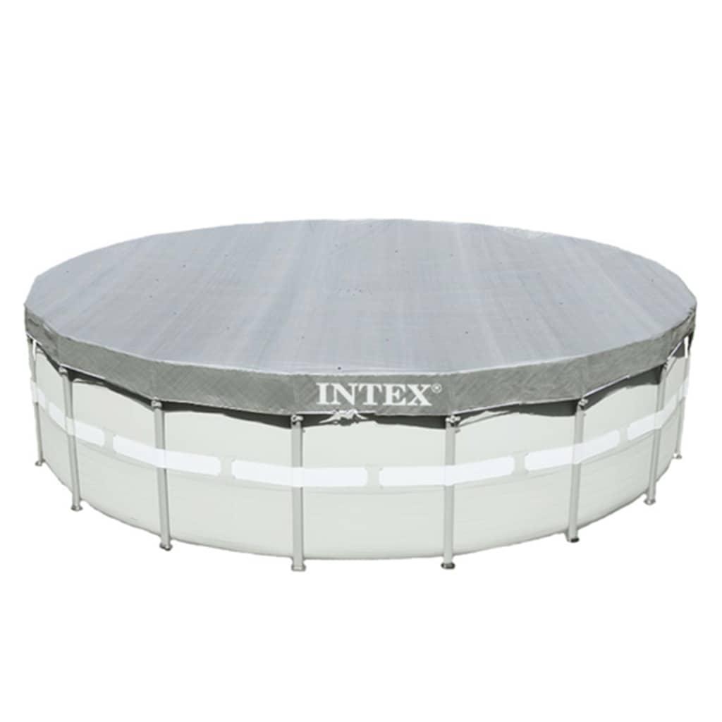 Intex Bazénová plachta Deluxe 549 cm okrúhla 28041