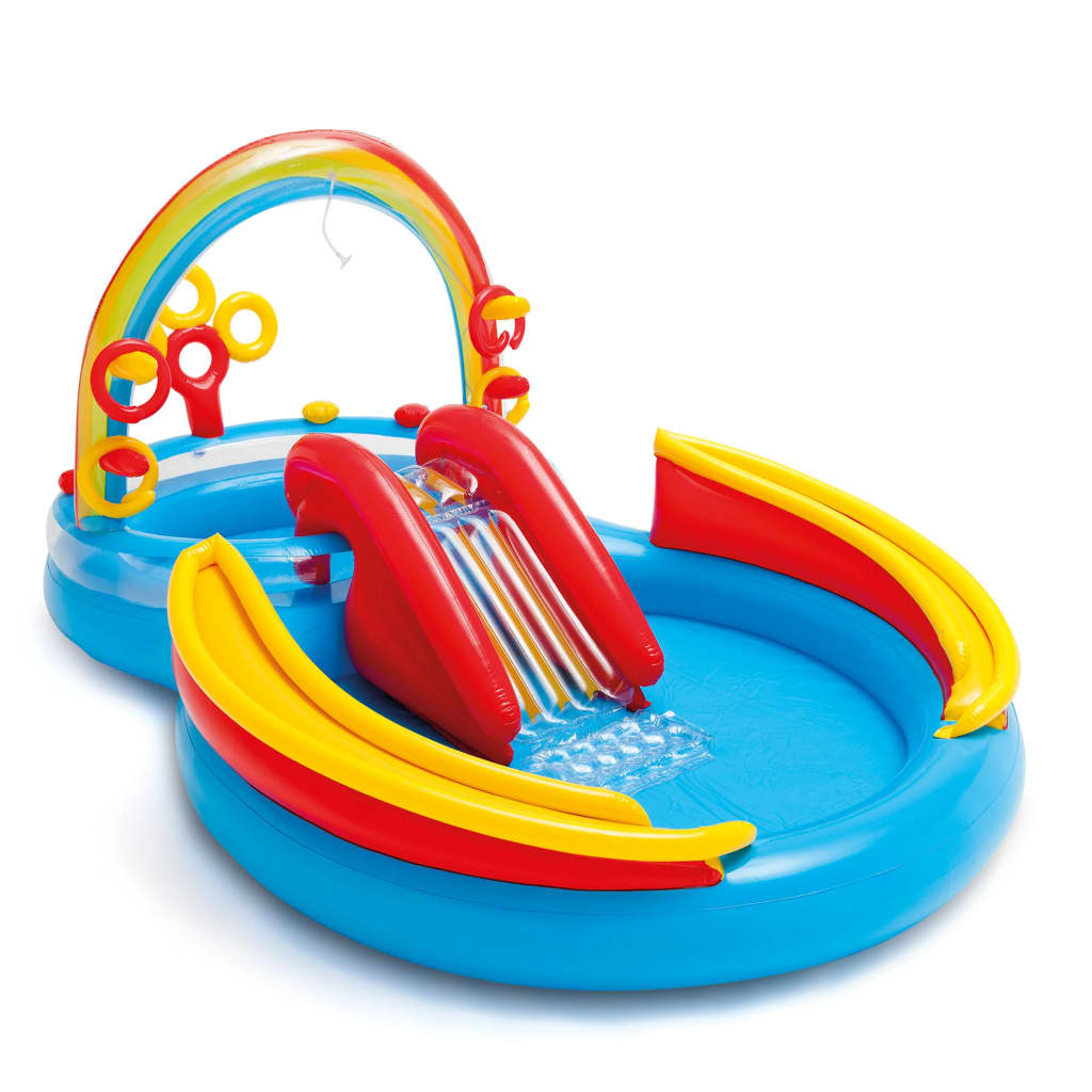 Intex Nafukovací bazén Rainbow Ring Play Center 297x193 x135 cm 57453NP