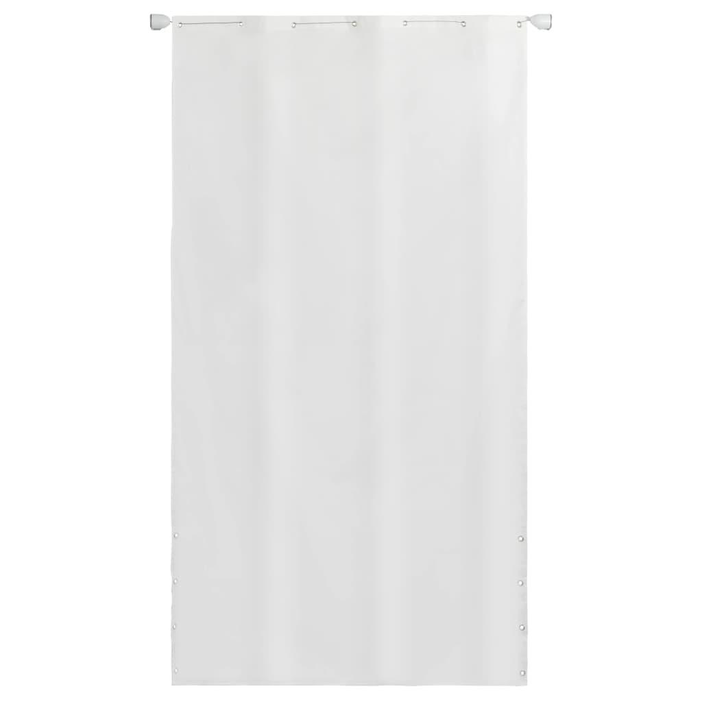 vidaXL Balkónová markíza biela 140 x 240 cm oxfordská tkanina