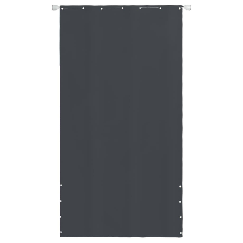 vidaXL Balkónová markíza sivá 140 x 240 cm oxfordská tkanina