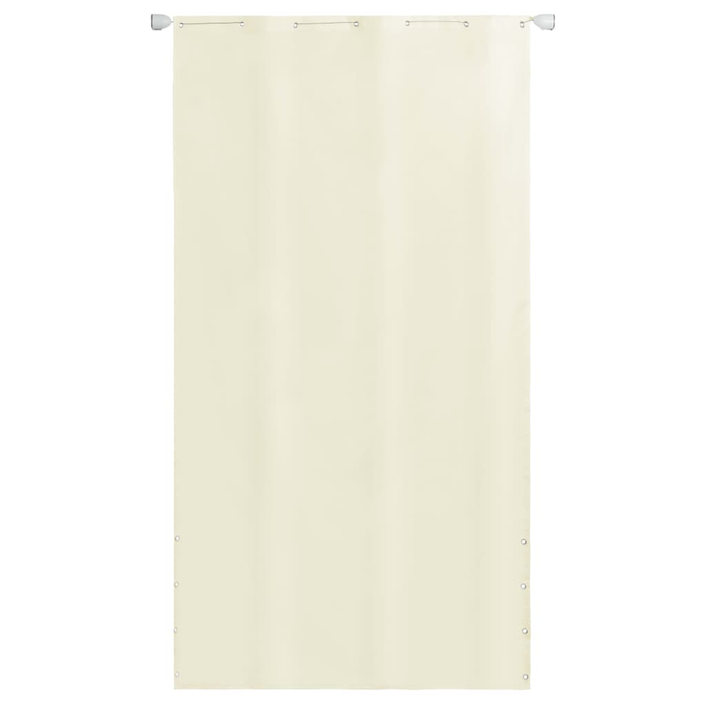 vidaXL Balkónová markíza krémová 140 x 240 cm oxfordská tkanina