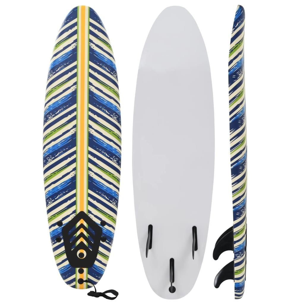 vidaXL Surfová doska 170 cm listová
