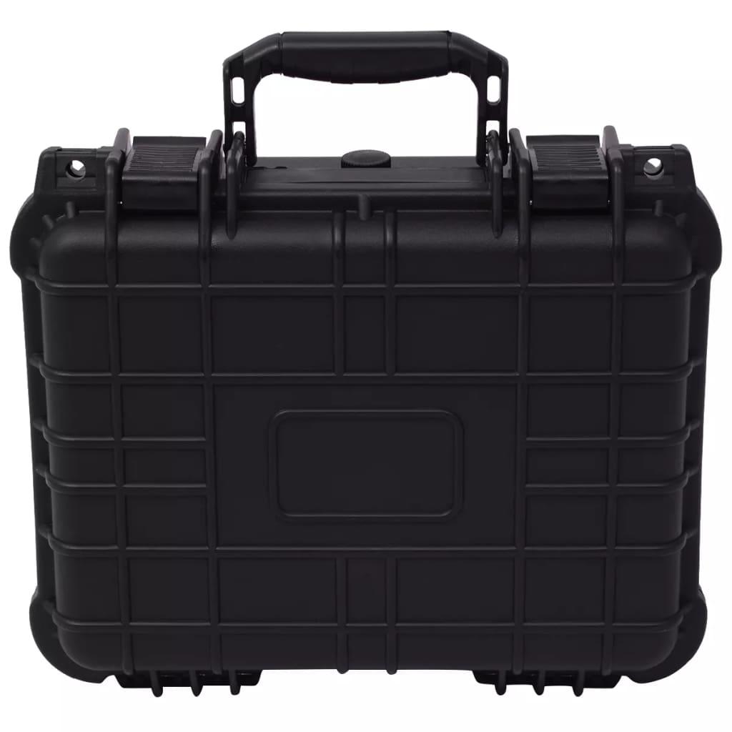 vidaXL Ochranný kufrík na náradie, čierny 35x29,5x15 cm