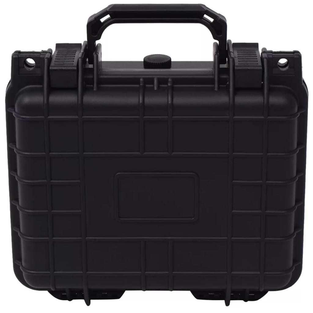 vidaXL Ochranný kufrík na náradie, čierny 27x24,6x12,4 cm