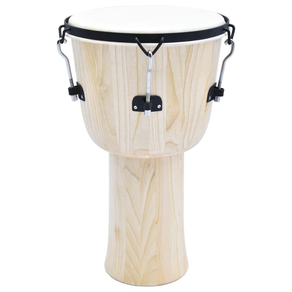 vidaXL Bubon djembe s kolíkovým ladením 14