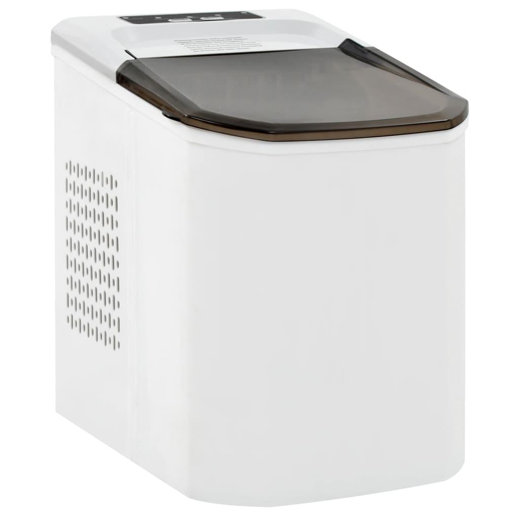 vidaXL Výrobník ľadových kociek biely 1,4 l 15 kg/24 h
