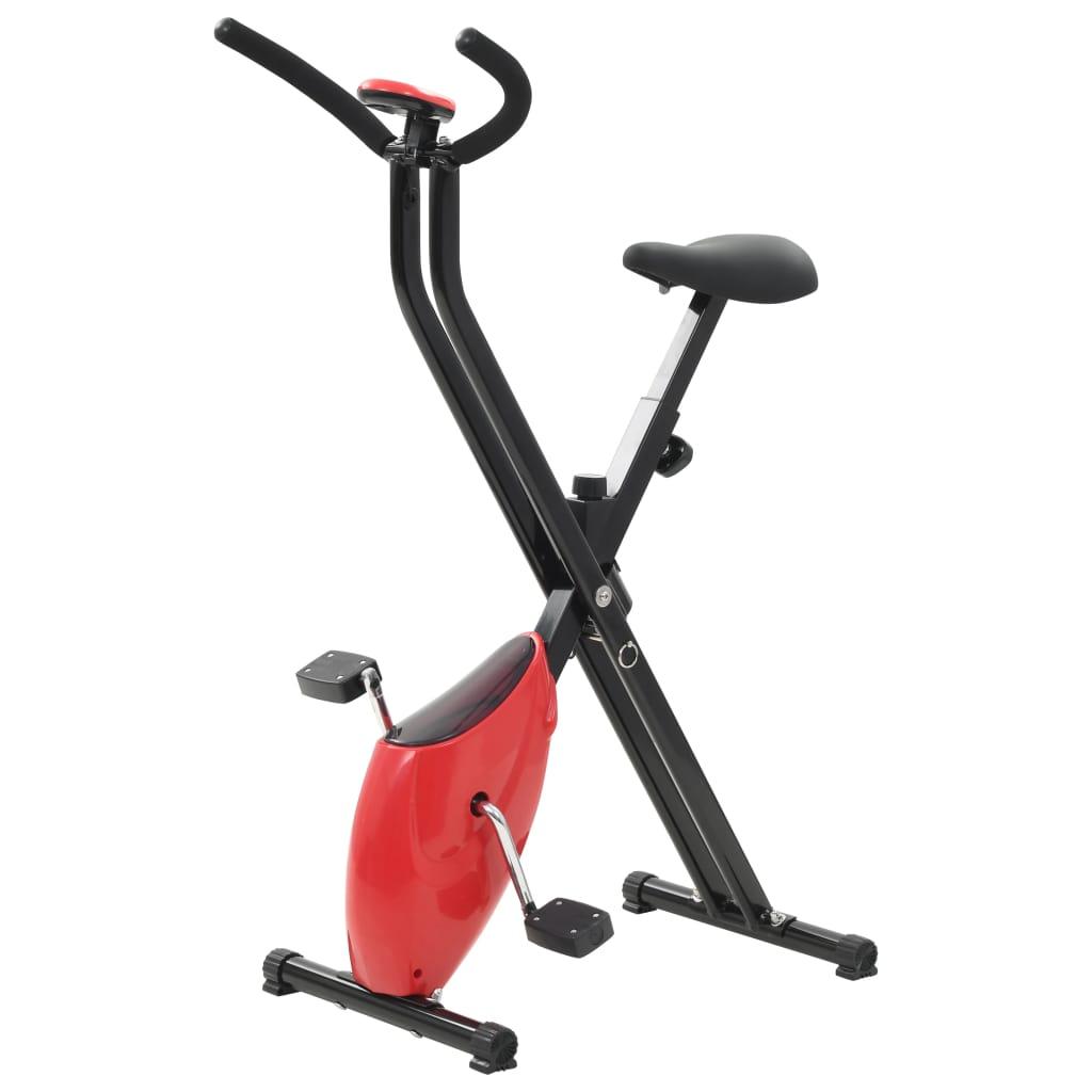 vidaXL Rotopéd X-Bike s remeňovým pohonom červený