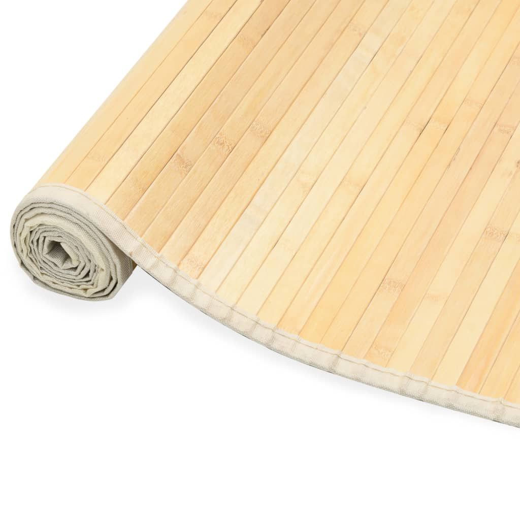 vidaXL Koberec prírodný 120x180 cm bambusový