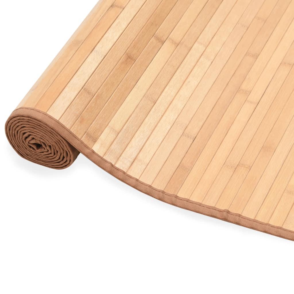 vidaXL Koberec bambusový 80x200 cm hnedý