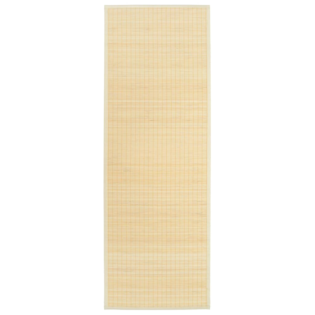 vidaXL Podložka na jogu prírodná 60x180 cm bambusová