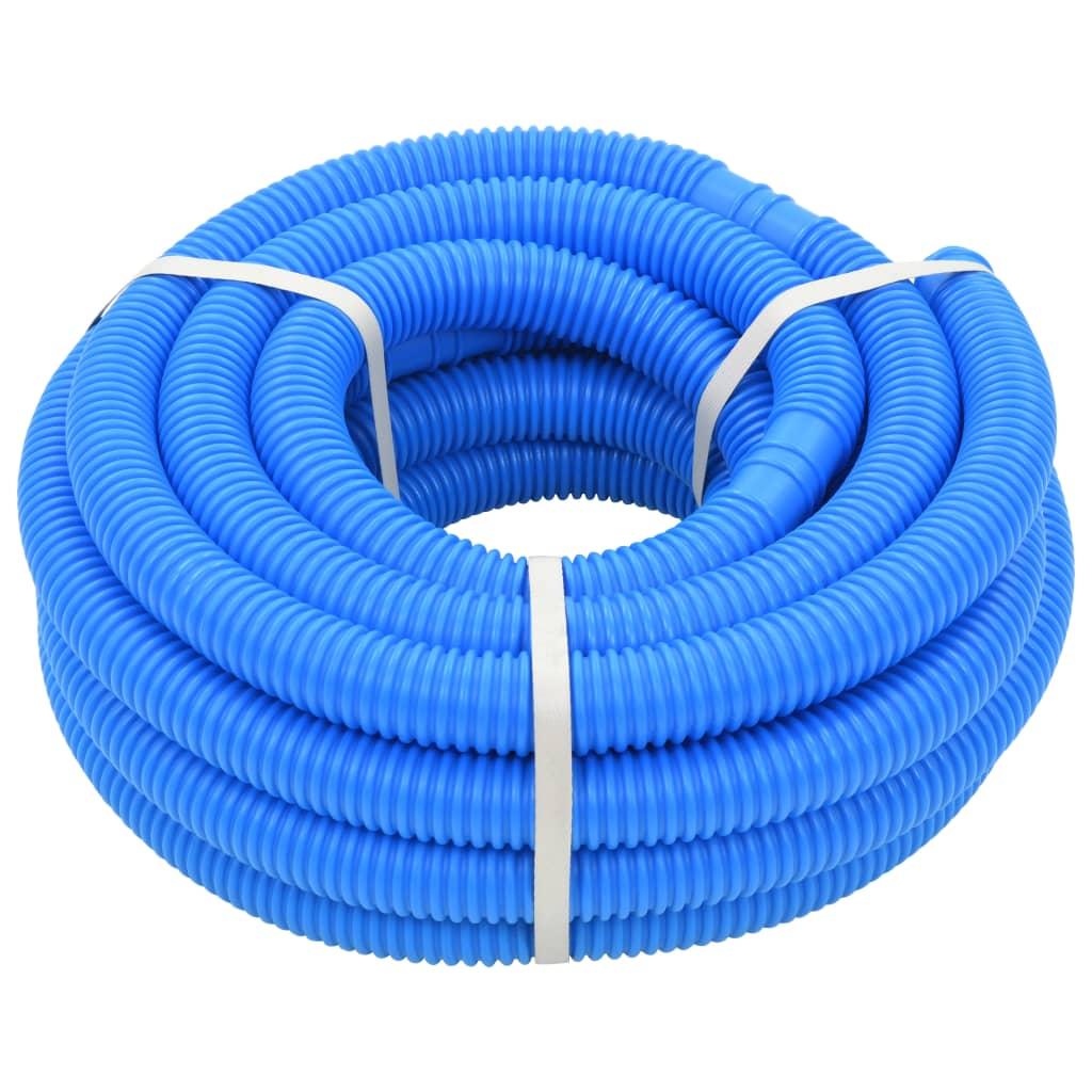 vidaXL Bazénová hadica modrá 32 mm 12,1 m