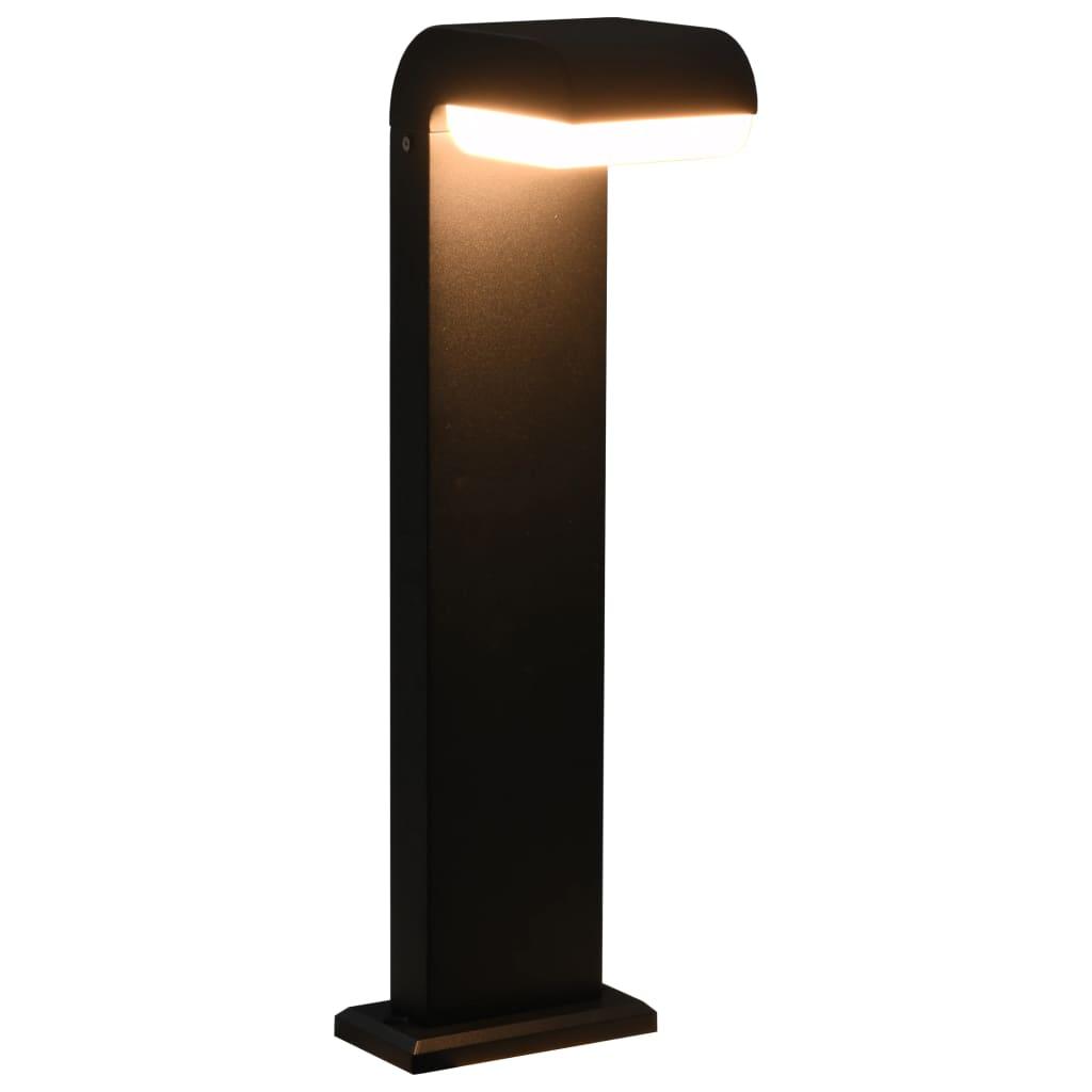 vidaXL Vonkajšia LED lampa 9 W čierna oválna
